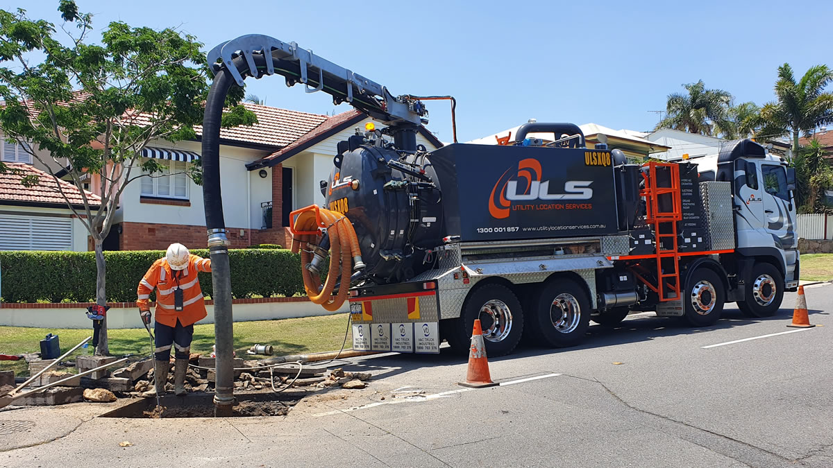 council sewage under road pipe excavation access Brisbane Gold Coast
