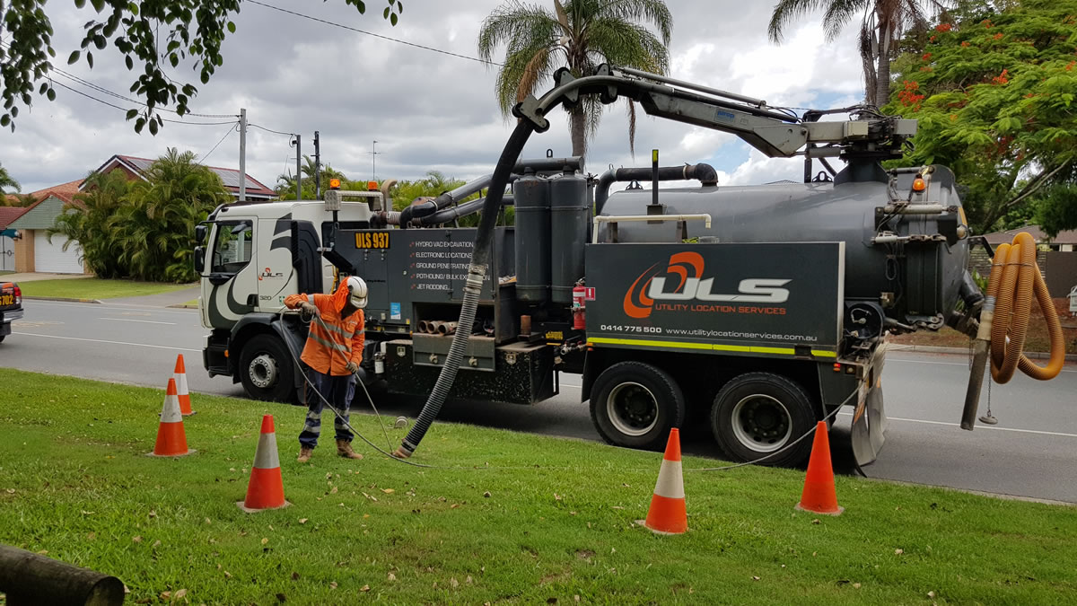 jet rodding hydrovac hire Brisbane Gold Coast
