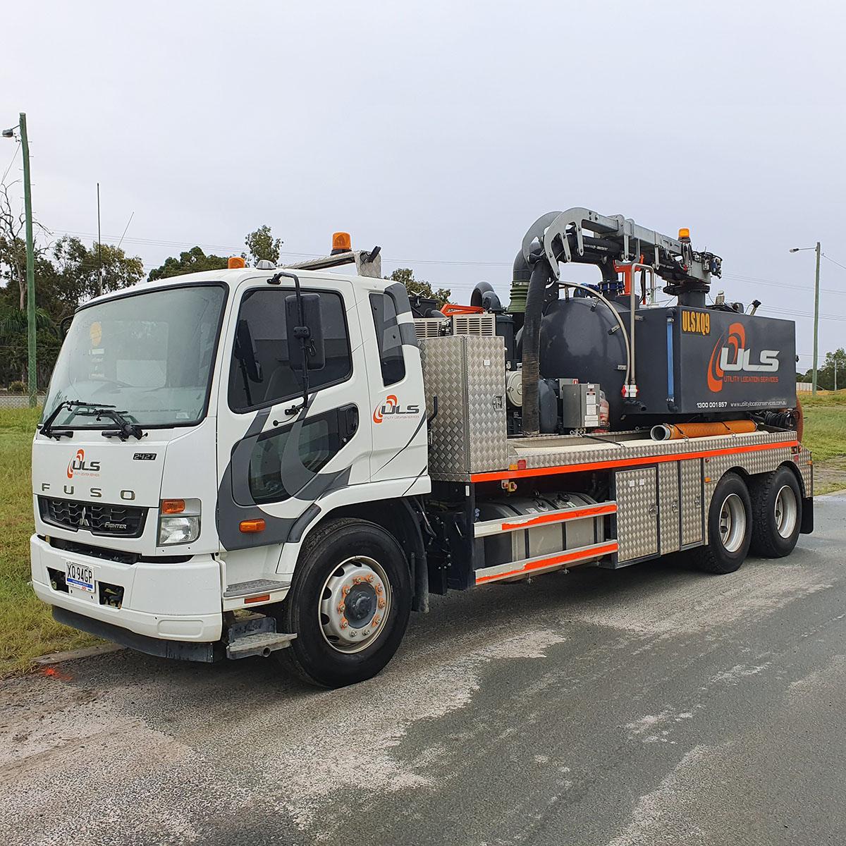 1500 hi cfm 6000 litre vac truck hire gold coast brisbane