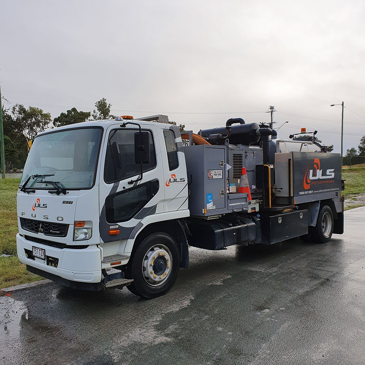 750 hi cfm 4000 litre vac truck for hire gold coast brisbane